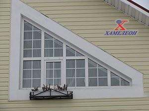 нестандартное окно по форме и декорированию