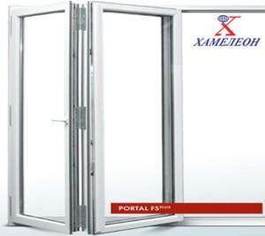 портальные двери производства завода ХАМЕЛЕОН
